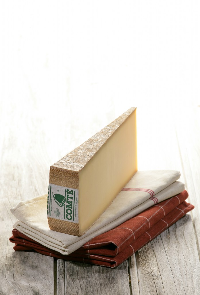 Comté--it's just one of the best cheeses ever, and it's particularly great in this recipe.
