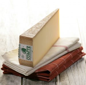 One of my favorite cheeses, Comté, was featured at a dinner where I met one of my favorite food writers, Janet Fletcher.