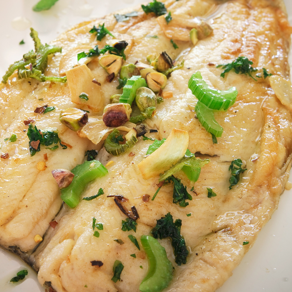 French Pan-Fried Trout