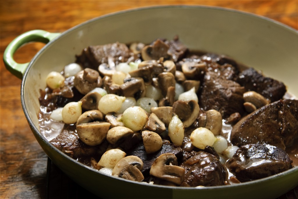 Boeuf Bourguignon. See my recipe.