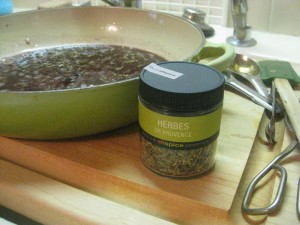 No need to chase around for fresh herbes de Provence. They're most often used dried, in France.
