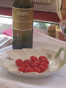Cherry Tomatoes as appetizer