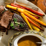 Braised Beef Roast with French Onion Gravy