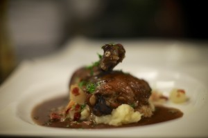 Coq au Vin. Chinon would be kind of perfect with this.