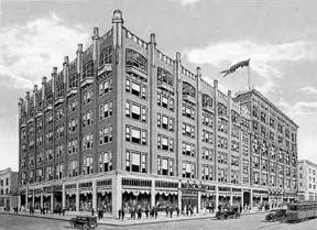 The Late, Great Younker's Department Store. Click here for my ode to working in the famous tea room.