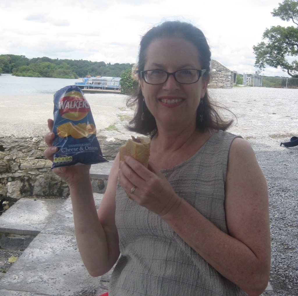 My adoration for Irish potato chips might explain why I gained five pounds in Ireland.