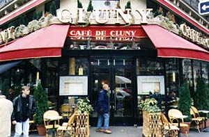 Cafe de Cluny. Photo credit/link.