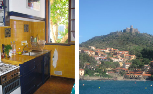 My little kitchen in my little town (Collioure).