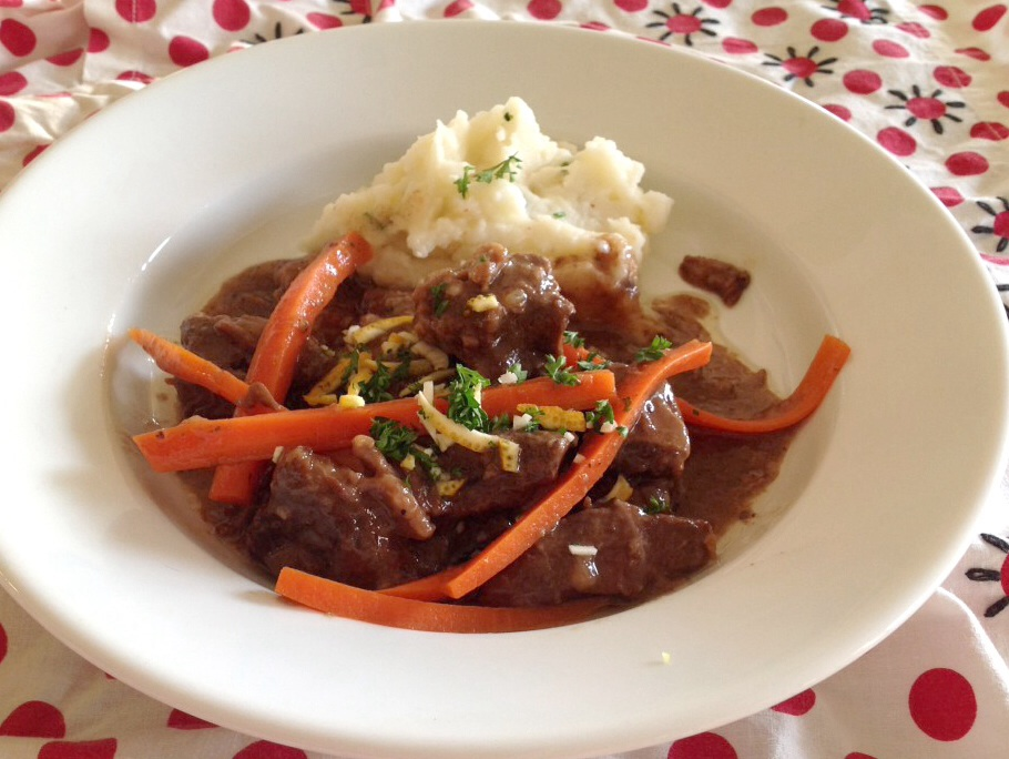 My French Beef Stew--in the Slow Cooker