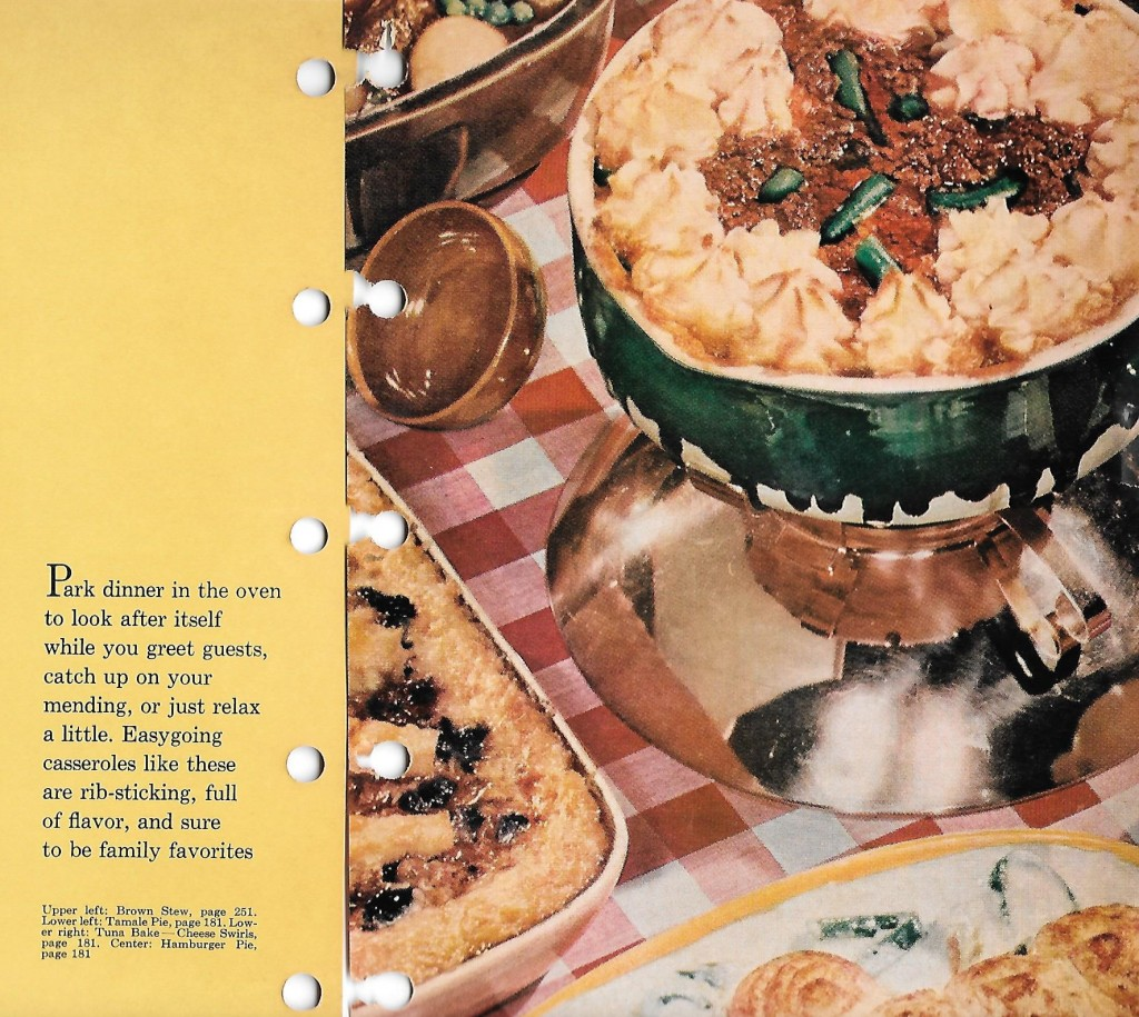 "Gah! I've spent much of my food-writing career writing cookbook copy like this. I don't think I ever came up with something as wonderful as, ""Park dinner in the oven""! Briliant"