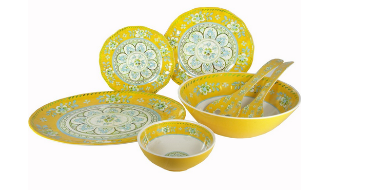 Love Melamine, especially in happy colors like these.