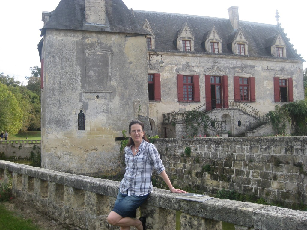 Me. At just another chateau in Bordeaux.