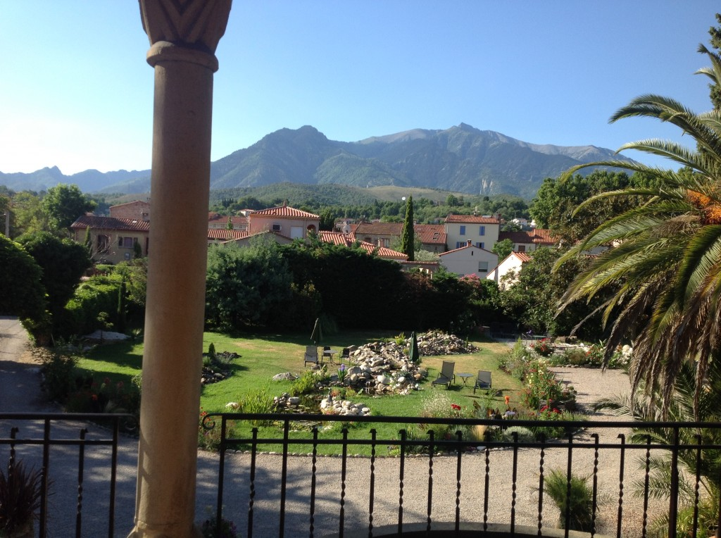 View from our terrace. I could have sat there for days.