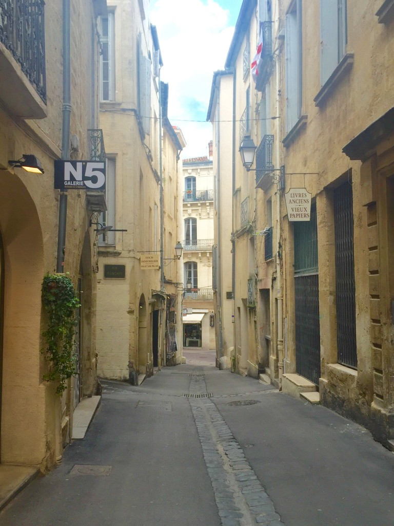 A bunch of car-less medieval streets wind around the city's ancient heart. And again--what is WRONG with these people? How do they live without traffic?