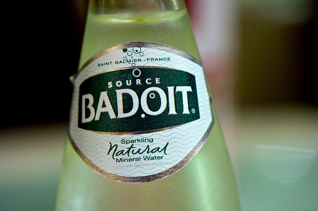Forget San Pellegrino. Would somebody please start importing Badoit?