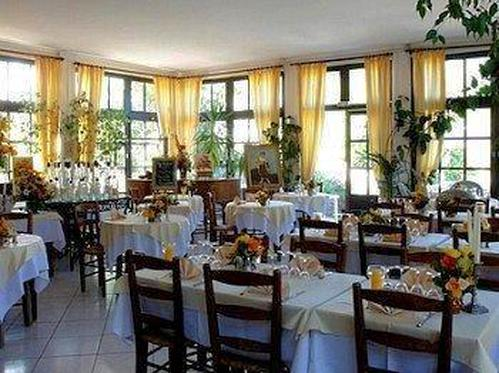 Dining Room at the Auberge de Provence, Sospel.