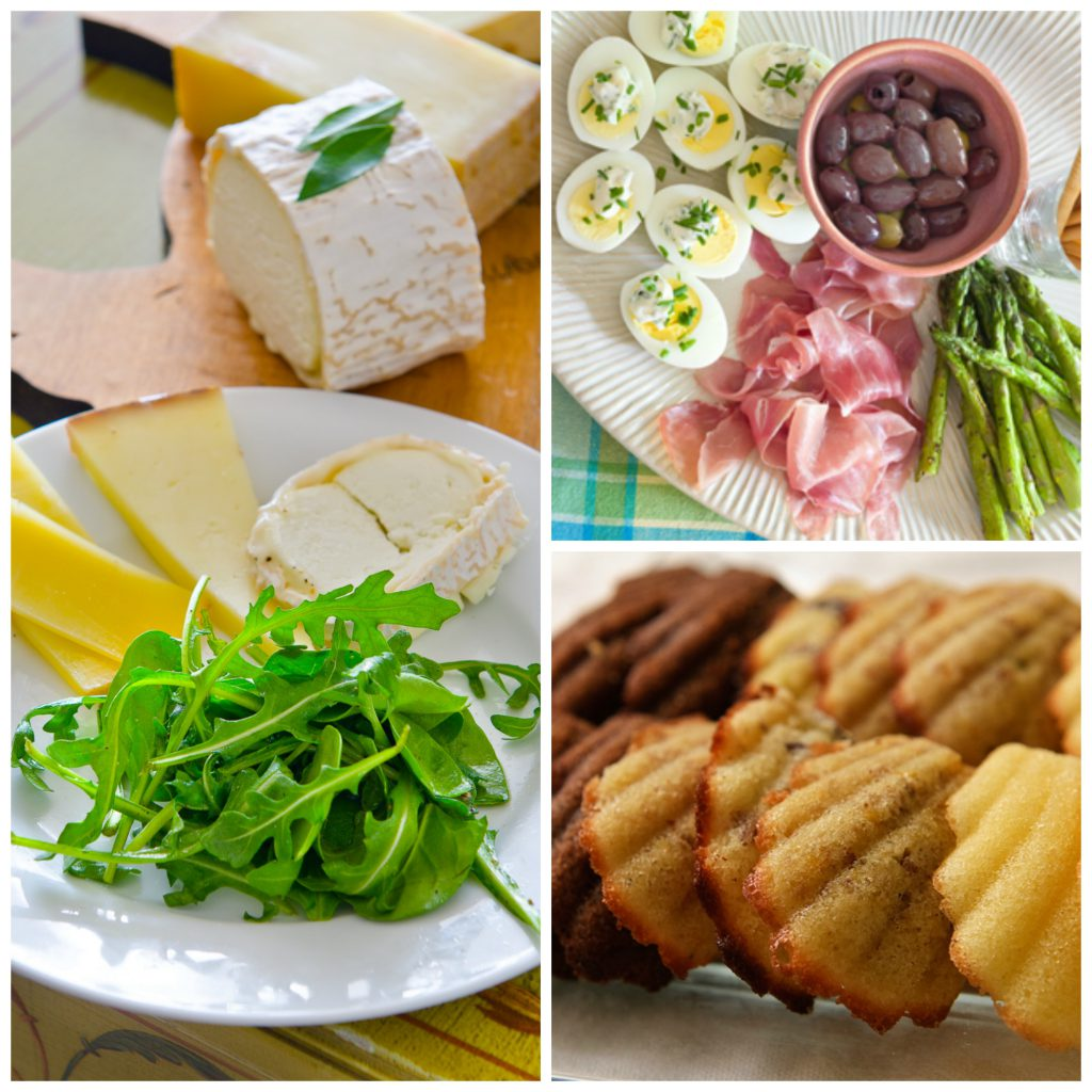 Elements of an Easy French Wine-Tasting Menu