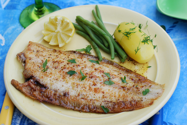 The classic French recipe for fish: Meuniere. So easy, and yet, the best way to cook fish ever.