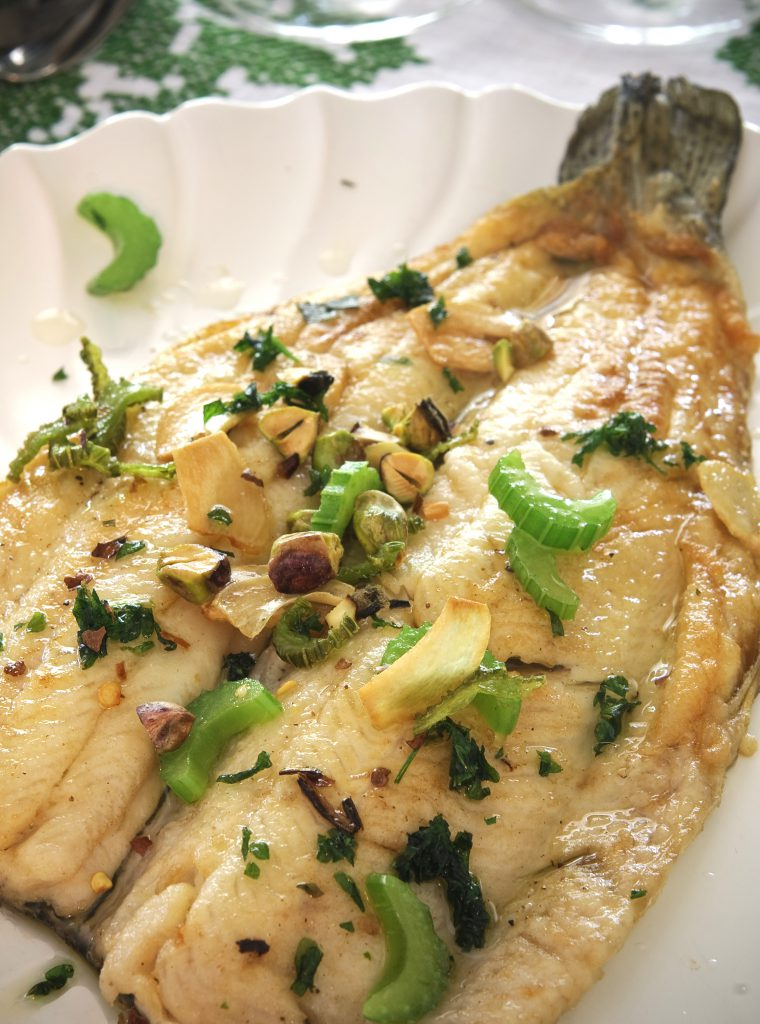 Here's a 20-minute French recipe for sauteed fish. Trout is pictured, but just about any fish will do.